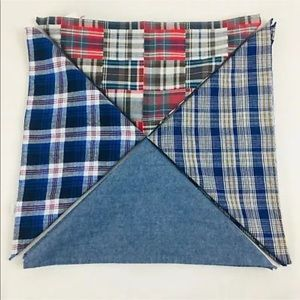 Bloomingdales Mens Pocket Squares Set of 4 F10-1